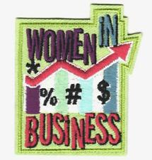 Girl WOMEN IN BUSINESS Patch Crest Badge SCOUT GUIDE College Speaker Career Day