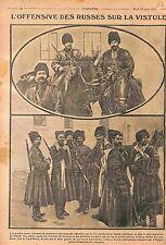 Cossacks Cossacks Imperial Russian Army Vistula Plotsk Serpetz Skriva WWI 1915