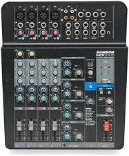 NEW Samson Mix Pad MXP124FX 12-Channel Analog Stereo Mixer with Effects and USB