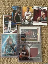 Miama Heat Lot Panini Hassan Whiteside Spectra Patch And /99 Blue Contenders