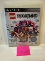 LEGO Rock Band (Sony PlayStation 3, 2009) GAME ONLY