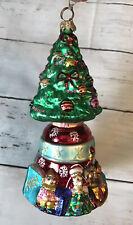 Christopher Radko Christmas Tree Ornament Used
