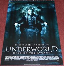 UNDERWORLD: RISE OF THE LYCANS 2008 ORIG D.S. 27x40 MOVIE POSTER! VAMPIRE HORROR
