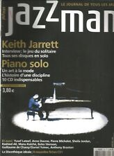 JAZZ MAN  N°116 KEITH JARRET / PIANO SOLO / YSEF LATEEF / ANNE DUCROS / YVINEC