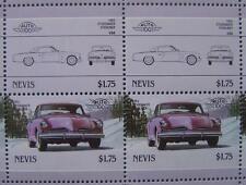 1953 STUDEBAKER COMMANDER STARLINER Car 50-Stamp Sheet / Leaders of the World