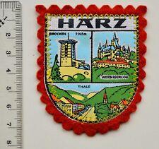 HARZ Vintage Souvenir Turistic Patch