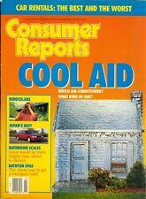 1989 Consumer Reports Magazine: Air-Conditioner/Binoculars/Japan's Best Cars