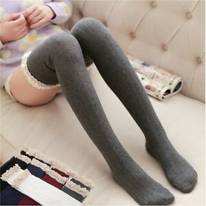Acrylic Sock High Stockings Cotton Thick Section Japanese Over The Knee Socks CF