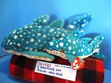 Ty Buddy and Baby Poseidon the Whale Shark 2002 plush(310-1522)