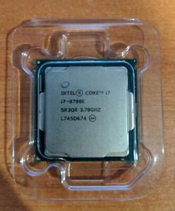 Intel Core i7-8700K 3.7 GHz Hexa-Core Processor