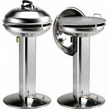 Barbecue a Pellet EDDI 4780/Cover Ompagrill 100% Acciaio Inox Con Coperchio