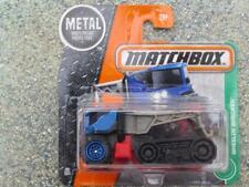 Matchbox 2017 #099/125 EQUITATION WRECKER bleu taxi gris grue MBX Explorer Étui