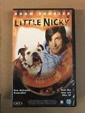 Little Nicky VHS Video Tape English with dutch subs clamshell