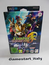 STAR FOX ZERO LIMITED FIRST PRINT EDITION - NUOVO NEW - NINTENDO WIIU WII U