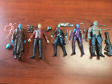 Marvel Legends Guardians Of The Galaxy Drax Starlord Gamora Nebula Yondu Figures