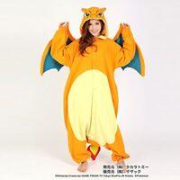 SAZAC Pokemon Rizzadon Fleece Kigurumi Cosplay Costume One Size From Japan F/S