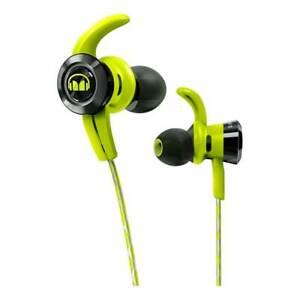 Monster iSport Headphone Wireless VICTORY Bluetooth Earphones Green NEW