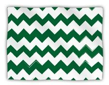 """Pet Blanket for You and/or Your Pet 60""""x50"""" Very Soft Throw Blanket Green/White"""