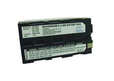 7.4V battery for Sony HVL-20DW2 (Video Light), GV-A100 (Video Walkman) Li-ion
