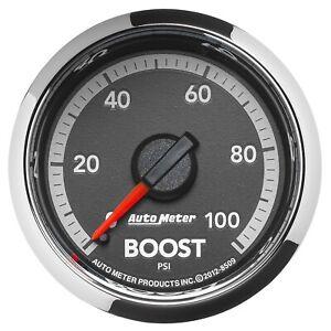 AutoMeter 8509 Boost Gauge Fits Dodge Ram 10-17 1500 2500 3500 4500
