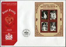 Papua New Guinea. 2018. Coronation of Queen Elizabeth II (Mint) First Day Cover