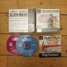 Final Fantasy Origins - Sony PlayStation One PS1 - VGC