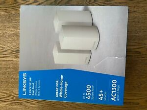 *Open Box* Linksys VELOP Mesh Whole Home Wifi System AC4600 Tri-Band - 3 Pack