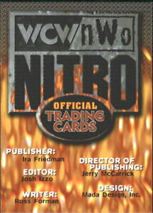 1999 Topps WCW/nWo Wrestling 1-72 +Inserts (A3309) - You Pick - 10+ FREE SHIP