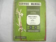 Ih International 817 B Series B Diesel Engine Service Manual Oem