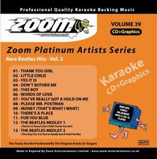 Zoom Karaoke Platinum Artists Series Volume 39 CD+G - Rare Beatles Hits (Vol.2)