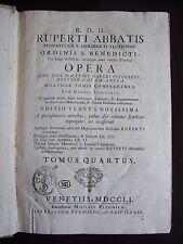 R. D. D. Ruperti Abbatis Opera - T.4
