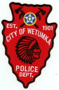OKLAHOMA OK WETUMKA POLICE NEW PATCH AWESOME LOOKING SHERIFF