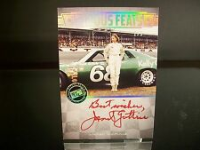 Janet Guthrie Press Pass Legends FAMOUS FEATS 2013 Card #FF-JG AUTOGRAPHED 2/5