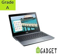 Acer C720 Google CHROMEBOOK Notebook Laptop 11.6-Inch LED 4GB RAM 16GB SSD HDMI