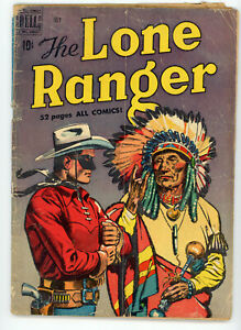 JERRY WEIST ESTATE: THE LONE RANGER #25 (Dell 1950) NO RES