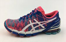 ASICS Women's T3E9Y Gel-Kinsei 5 Athletic Shoes Size 8, Blue/Pink 3157
