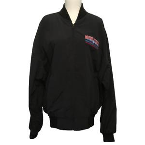 Vintage Bruno Vs Tyson Championship Part I Fight Night Jacket 1996 Black Size L