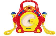 Roadstar Kid-55cd tragbarer Cd-player für Kinder mit Zwei Mikrofonen