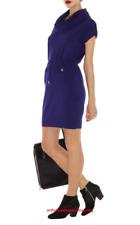 BRAND NEW Karen Millen Knitted Orange Parka Dress, Size 8, RRP £110 Good Offer!!