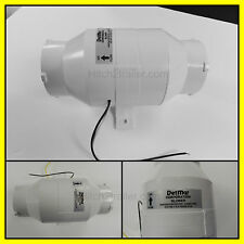 "IN-LINE BILGE BLOWER 3"" 12 V BOAT EXHAUST MARINE MADE IN USA SEACHOICE 41851"