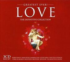 GREATEST EVER LOVE 3 CD (BARRY WHITE, ELTON JOHN, CHRIS DE BURGH UVM. ) NEUF