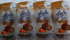 4 Glade Plugins Scented Oil Refill CASHMERE WOODS Brand NEW In Package AUTHENTIC