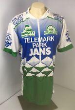 Baleno Cycling Jersey Park City Cycling Club Utah XL 1/2 Zip Telemark Park Jans
