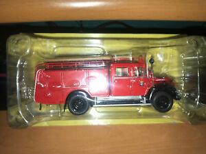 Camion Magirus Deutz Mercurio Tlf 16 Bomberos Madrid Salvat Ixo 1/43 1:43 open!