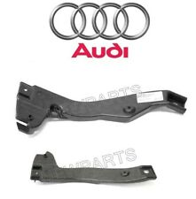 For Audi A4 A4 RS4 S4 Pair Set of 2 Front Bumper Cover Support Brackets Genuine