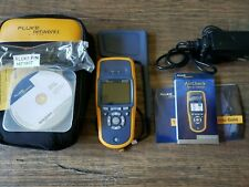 Fluke Networks AirCheck Wi-Fi Tester With Charger, Case & Directional Antenna