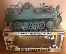 VNT The Ultimate Soldier Kettenkrad German Motorcycle Tractor in Military Grey