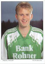 Pascal Thüler  FC St.Gallen  Fußball Autogrammkarte signiert 391720