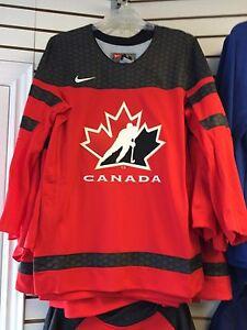 2017 World Juniors Championship Team Canada Red Jersey Player WJC IIHF X-Small