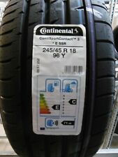 Sommerreifen Continental SportContact 3 E SSR 245/45 R18 96Y UPE: 195,00?